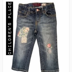 Children's Place Jeans with Patches Size 5